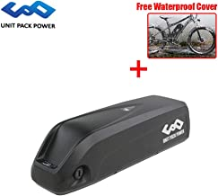 UnitPackPower 52V 13.6AH / 14AH Electric Bike Lithium ion Shark Battery with BMS+Charger for Bafang 48V 750W 1000W E-Bike Motor