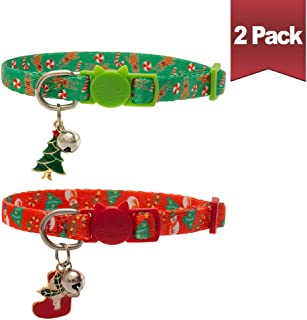 christmas cat collar uk