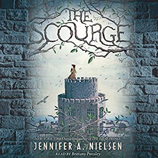 The Scourge                   By:                                                                                                                                 Jennifer A. Nielsen                               Narrated by:                                                                                                                                 Brittany Pressley                      Length: 8 hrs and 43 mins     152 ratings     Overall 4.3