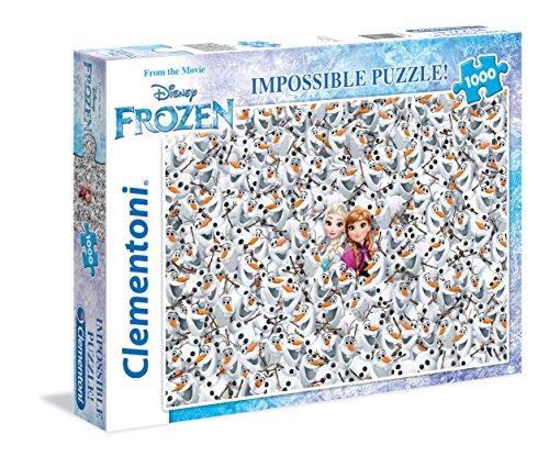 Clementoni - Puzzle de 1000 Piezas, diseño Frozen (39360.2)
