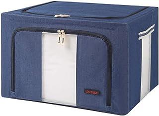 YLKCU Caisses de Rangement Panier de Rangement de vêtements, Art de Tissu, boîte de Rangement Pliable, boîte de Finition d...