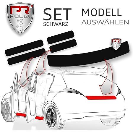 Pr Folia Set Passend Für Cx 5 Cx5 1 Gen Typ Ke Bj 2011 04 2017 Faceliftmodell Ladekantenschutz Einstiegsleisten In Schwarz Lack Schutz Folie Auto