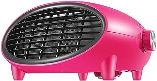 Heating Calentador Cerámico Rosa Calentamiento rápido eléctrico│ Protección contra sobrecalentamiento│ Radiador portátil de Pared/de Escritorio para habitación│35w / 1200w / 2000w