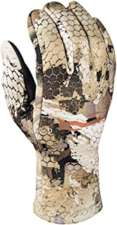 SITKA Gear Gradient Stretch Fleece Camouflage Hunting Gloves