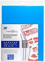 Grafix K30DC912 Impress Monoprint Plates, 9 by 12-Inch, 3-Pack