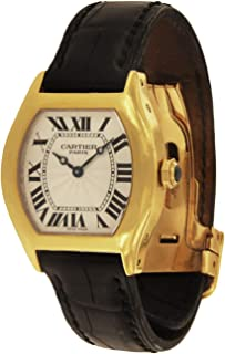 Cartier Tortue Mechanical-Hand-Wind Male Watch 2643F (Certified Pre-Owned)