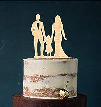 edelstahlheini.de Cake Topper, taartfiguur acryl, taartstandaard, etagère bruiloft bruidstaart