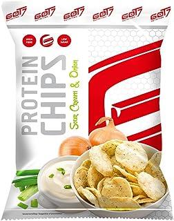 GOT7 High Protein Chips Snack 40% Protein Fitnesssnack – Ideal Zur Diät Fitness Bodybuilding 6x 50g Sour Cream & Onion