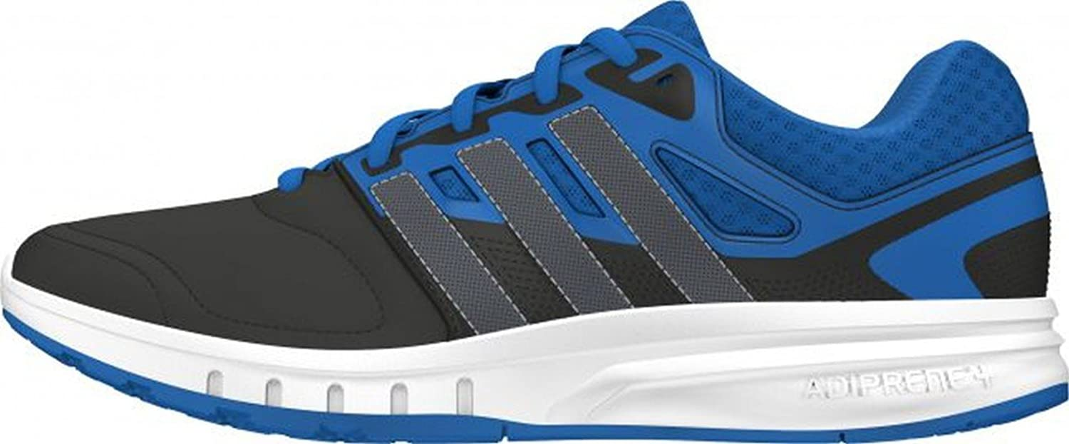 Adidas Men's Galaxy Trainer Running shoes, bluee Black (Azuimp Nocmét   Negbas), 6.5
