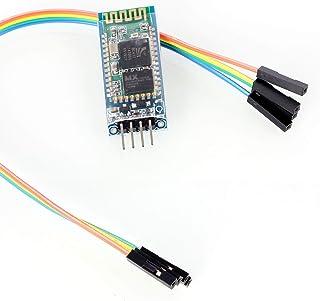 Neuftech Comunicación Serie Inalámbrica Bluetooth Serial transceptor del módulo HC-06 + Cable Dupont para Arduino