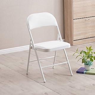 Wyujie Comedor Duradera preside 4Er Set Sillas de Comedor sillas Mesa Plegable Impermeable de Deslizamiento Resistente Restaurante Cocina Estudio Moderno Retro,White & White