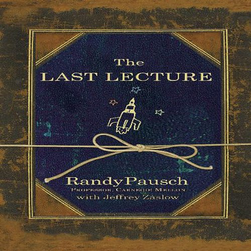 The Last Lecture audiobook cover art