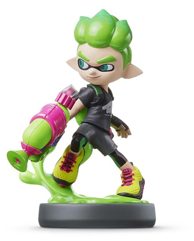 Amiibo Boy (Neon Green) Splatoon (Wii U / Nintendo 3DS, Japan Import): Amazon.es: Videojuegos