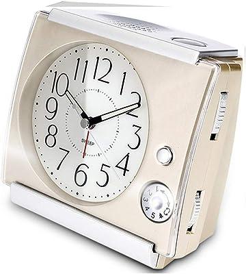 Relojes de mesa para la Sala de Estar Decoración Habitaciones Baño Dormitar Relojes de Escritorio Funcionamiento