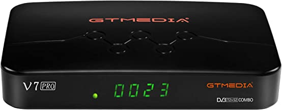 GT MEDIA V7 PRO Free to air FTA Digital Satellite Receiver with USB WiFi Antenna,..