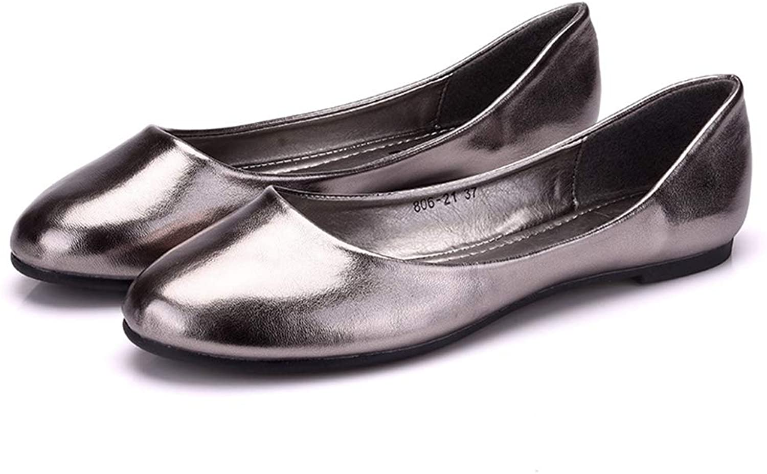 Phil Betty Women Flats shoes Shallow Casual Round Toe Slip-On Flats Ballet shoes