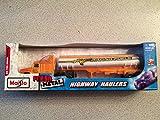 Maisto Fresh Metal Highway Haulers Orange Hornet Racing Fuels Tanker