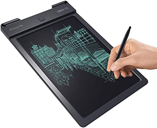 Digitales Zeichenbrett CELINEZL WP9313 13-Zoll-LCD-Schreibtablett-Handschrift-Zeichnung, die Graffiti-Gekritzel-Doodle-Board oder Home Office-Schreibenszeichnung zeichnet (Schwarz (Farbe   schwarz)