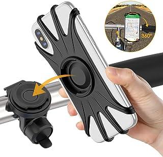 comprar comparacion VUP Soporte Movil Bici, Universal 360 Grados & Desmontable Manillar Porta Móvil Moto 4.7 o 6.5 Pulgada Teléfonos Compatibl...