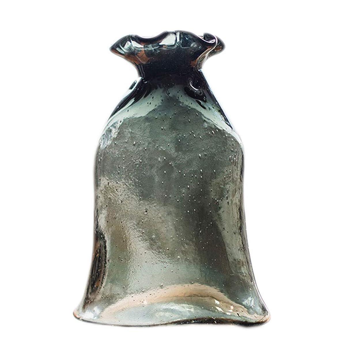 電話に出るコンピューターを使用する困惑花瓶 現代中国のフラワーアレンジメント磁器ボトル工芸Motivationcreativeシンプル花瓶セラミッククラック緑釉オープニングセラミック インテリア フラワーベース