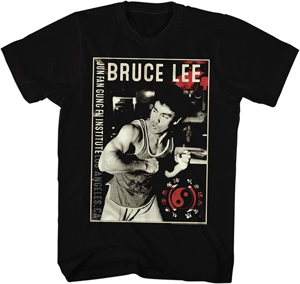 Bruce camiseta de los hombres de Bruce Lee