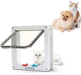 PetsN'all Puerta para Mascotas con 4 Cerraduras Diferente