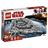 LEGO Star Wars VIII First Order Star Destroyer 75190 Building Kit...
