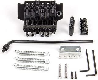 Kmise Electric Guitar Tremolo Bridge System For Floyd Rose Parts Replacement 1 Set (Black)