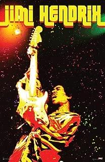 Pyramid America Jimi Hendrix Electric Voodoo Music Cool Wall Decor Art Print Poster 24x36
