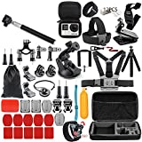 ❤[A variety of accessories, can meet different photography needs. ❤[Easy to install. ❤[Won't take much space of your package. ❤[A good protection of your camera, also a good helper of your camera. ❤[Widely used on surfing, skiing, skateboarding, ridi...