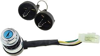 WOOSTAR 5 Pin Zündung Schlüssel Schalter Ersatz für 50ccm 70ccm 90ccm 110ccm 125ccm 150ccm 200ccm 250ccm Dune Buggy Go Kart ATV 4 Wheeler Quad
