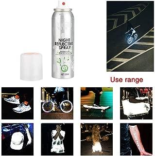 Fine Bike Night Spray, Reflective Spray Night Reflective Spray Paint Reflecting Safety Mark Anti Accident Riding Bike Night Spray