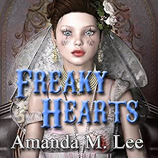 Freaky Hearts audiobook cover art