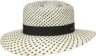 Lipodo Cappello di Paglia Twotone Donna - Made in Italy da Sole Estivo Cappelli Spiaggia con Nastro Grosgrain Primavera/Es...