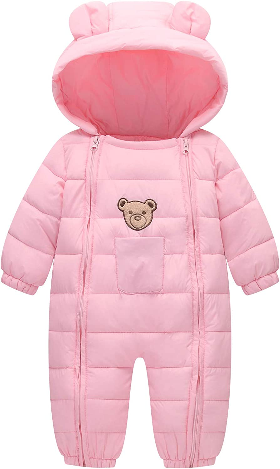 Baby Fashionable Cotton Romper Toddler High quality new Thermal Winter Double Win Zipper Coat