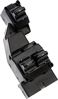 Dorman 901-440 Front Driver Side Door Window Switch for Select Dodge Models, Black