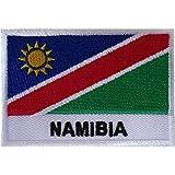 Namibia-Flagge, Aufnäher zum Aufbügeln oder Aufnähen, Südafrika, afrikanisch, bestickt