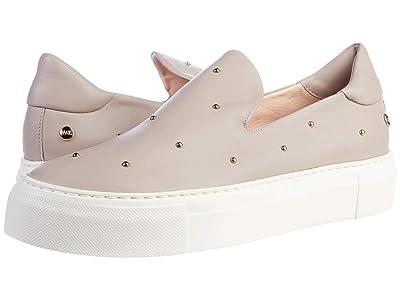 AGL Gold Studded Slip On Sneaker (Poudre) Women