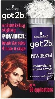 Powder'ful Volumizing Styling Powder for Hair by Schwarzkopf got2b