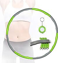 Comius Sharp Hula Hoop Afneembaar, 8 secties oefening Hula Hoop Verwijderbare Foam Hula Hoop Foam Coating Massage Button W...