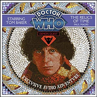 Doctor Who: Demon Quest 1 - The Relics of Time audiobook cover art