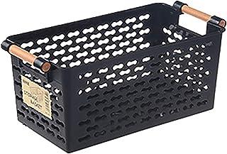 Rangement Bureau Panier de Rangement en Plastique Basket de Stockage Organisateur Légumes Panier de Fruits pour Cuisine Sa...