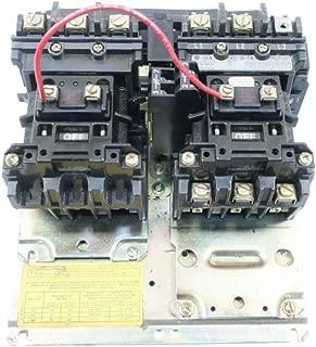 ALLEN BRADLEY 505-BOD REVERSING Starter SER C 120V-AC 10HP