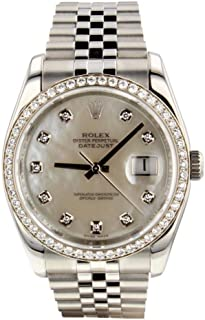 Rolex Datejust Automatic-self-Wind Male Watch 116244 (Certified Pre-Owned)