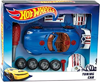 Theo Klein 8010 Hot Wheels Car Tuning Set, Toy, Multi-Colored