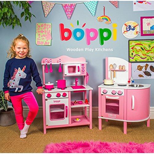 boppi® Küchenspielzeug aus Holz mit Zubehör 19-teilig - 5