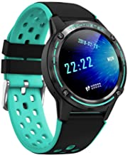 Anmino ASM6C GPS Smart Watch for Android and iOS Phones with 1.3 Inch IPS Round Touch..