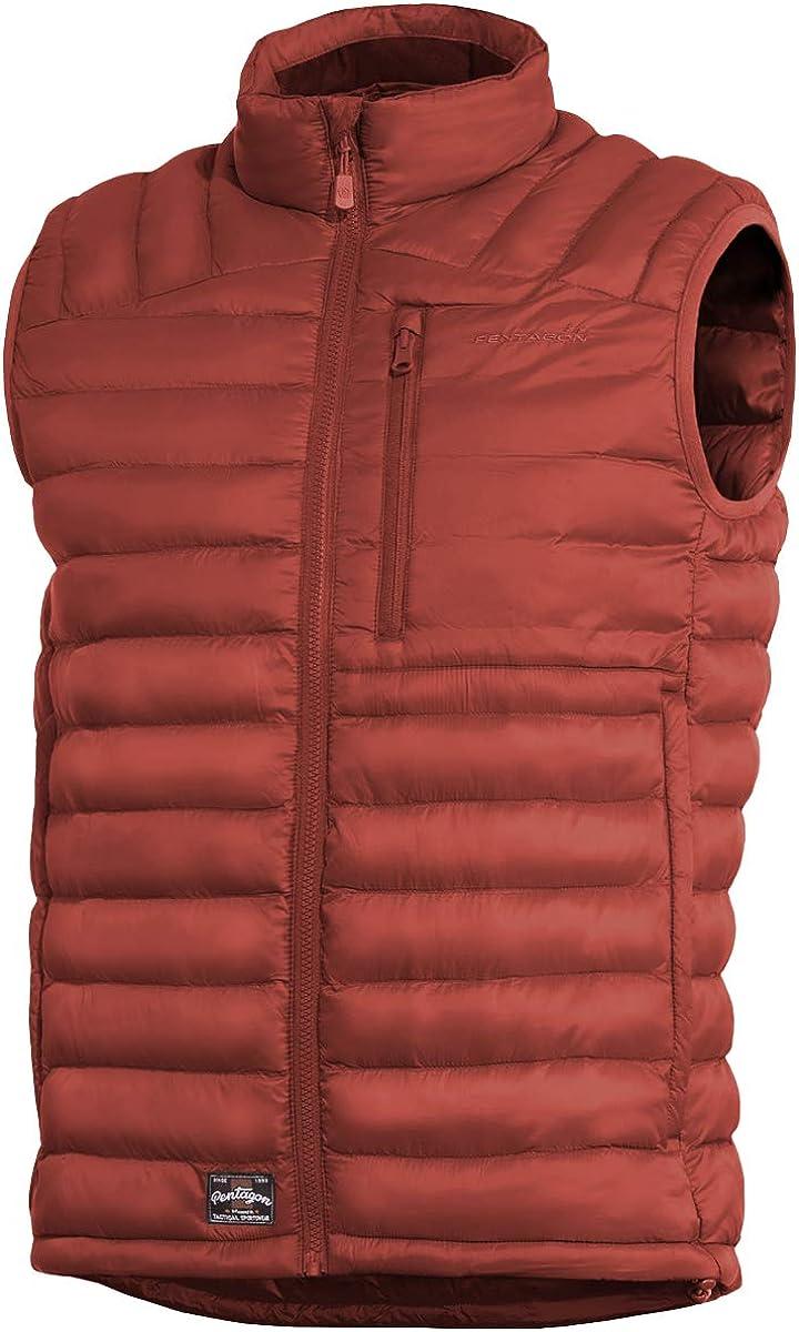 Pentagon Men's Homer Vest Maroon Red size S