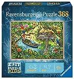 Ravensburger EXIT Puzzle Kids - 12924 Die Dschungelexpedition - 368 Teile Puzzle für Kinder ab 9 Jahren, Kinderpuzzle