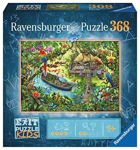 Ravensburger EXIT Puzzle Kids 12924 - Die Dschungelexpedition - 368 Teile für Kinder ab 9 Jahren